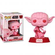 Star Wars Valentines Yoda with Heart Pop! Vinyl Figure