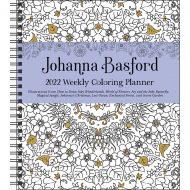 Johanna Basford coloring vikudagbók 2022