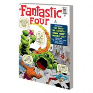 Mighty Mmw Fantastic Four Gn Tp Vol 01 Greatest Heroes Dm Va Mighty Marvel Masterworks: The Fantastic Four Vol. 1 : The World's Greatest Heroes