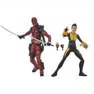 X-Men Marvel Legends Deadpool and Negasonic Action Figures